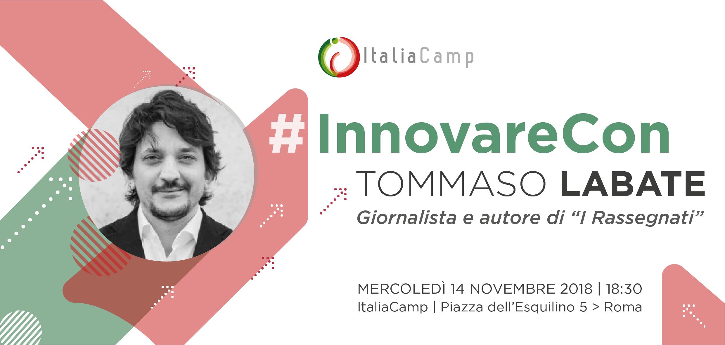#InnovareCon Tommaso Labate