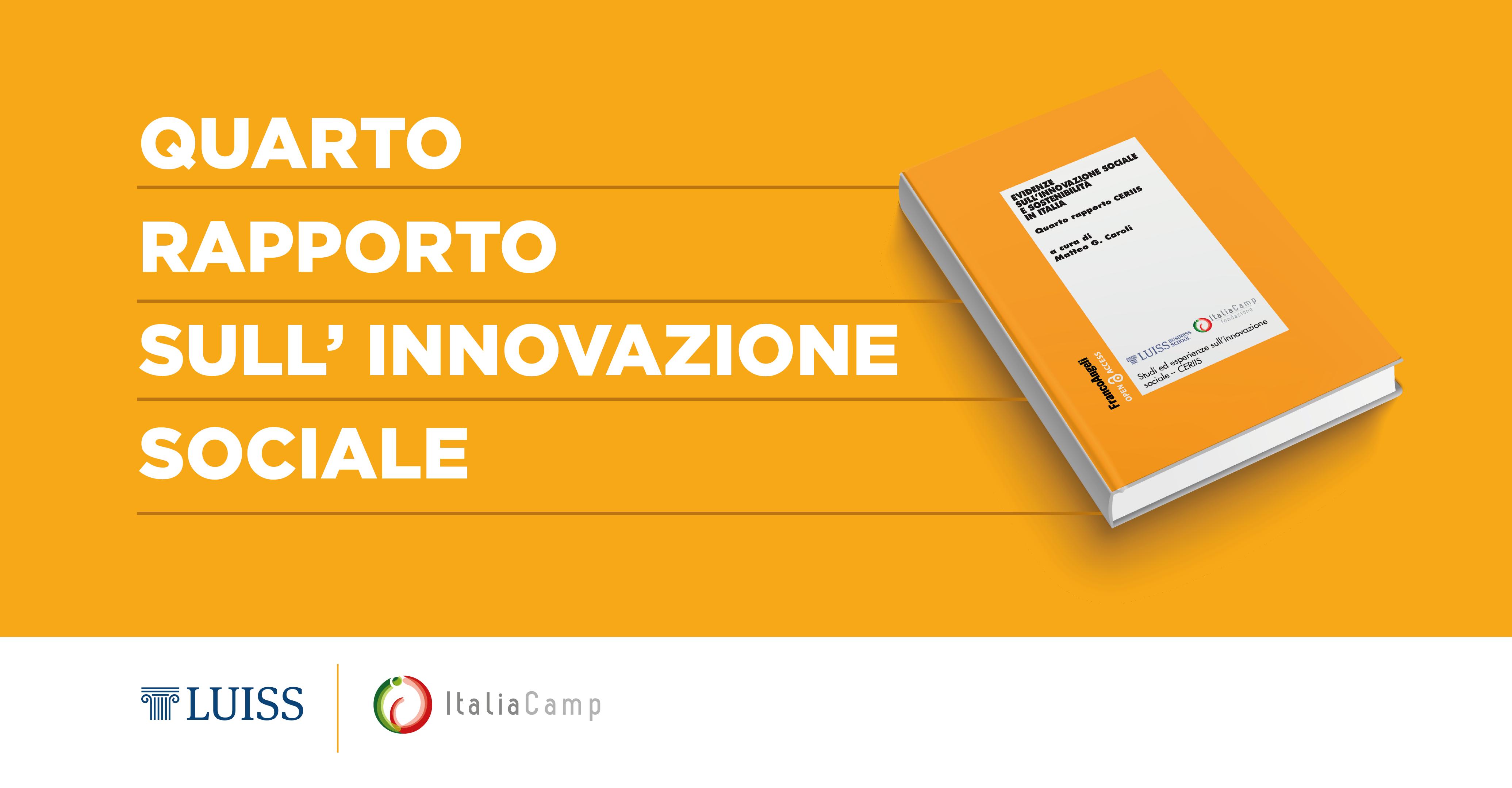 Il Quarto Rapporto sull'Innovazione Sociale in Italia