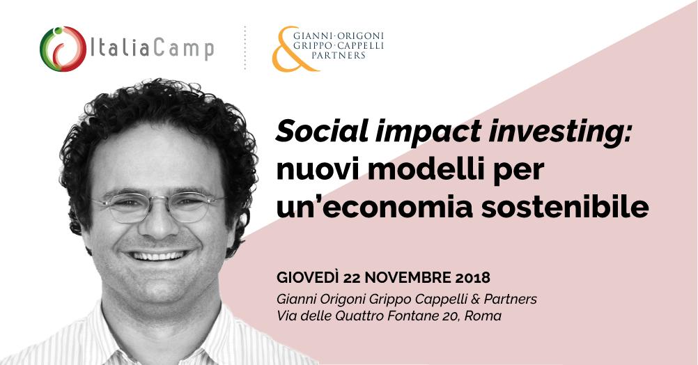Fabrizio Sammarco a Social Impact Investing