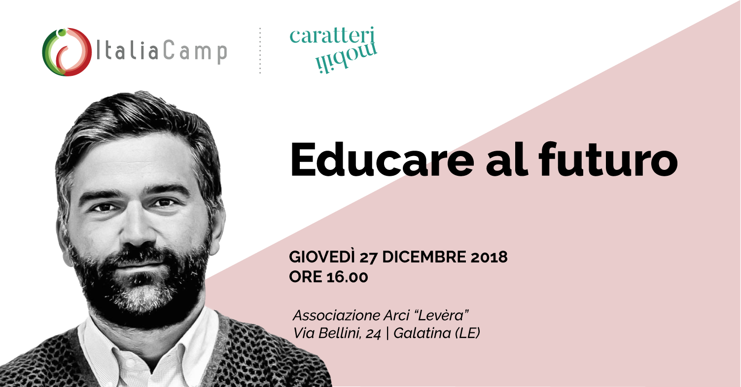 Leo Cisotta in Salento per Educare al futuro