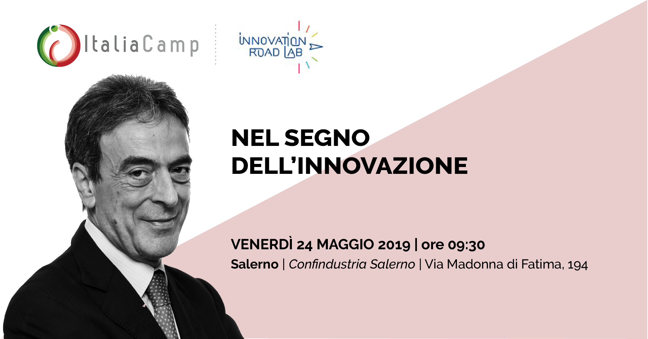 Luigi Mastrobuono all'Innovation Road Lab