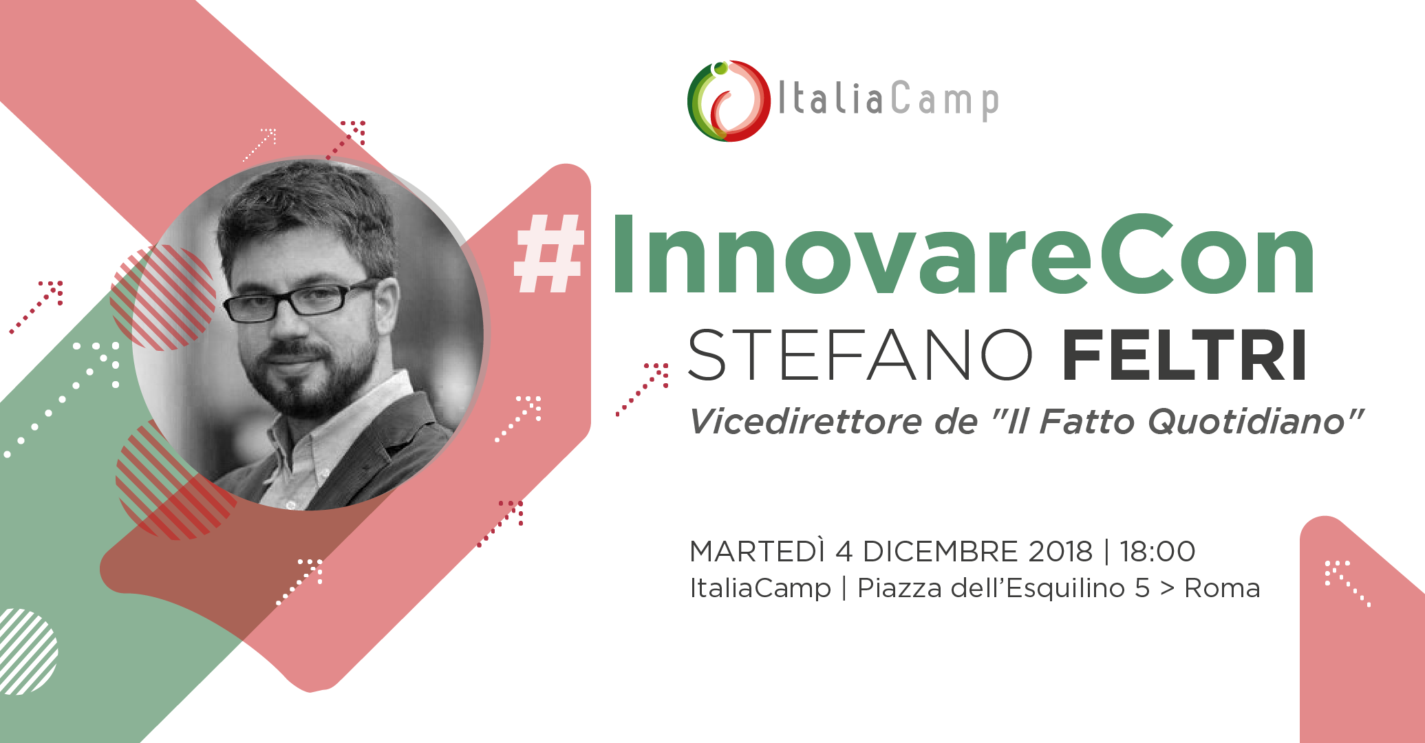 #InnovareCon Stefano Feltri