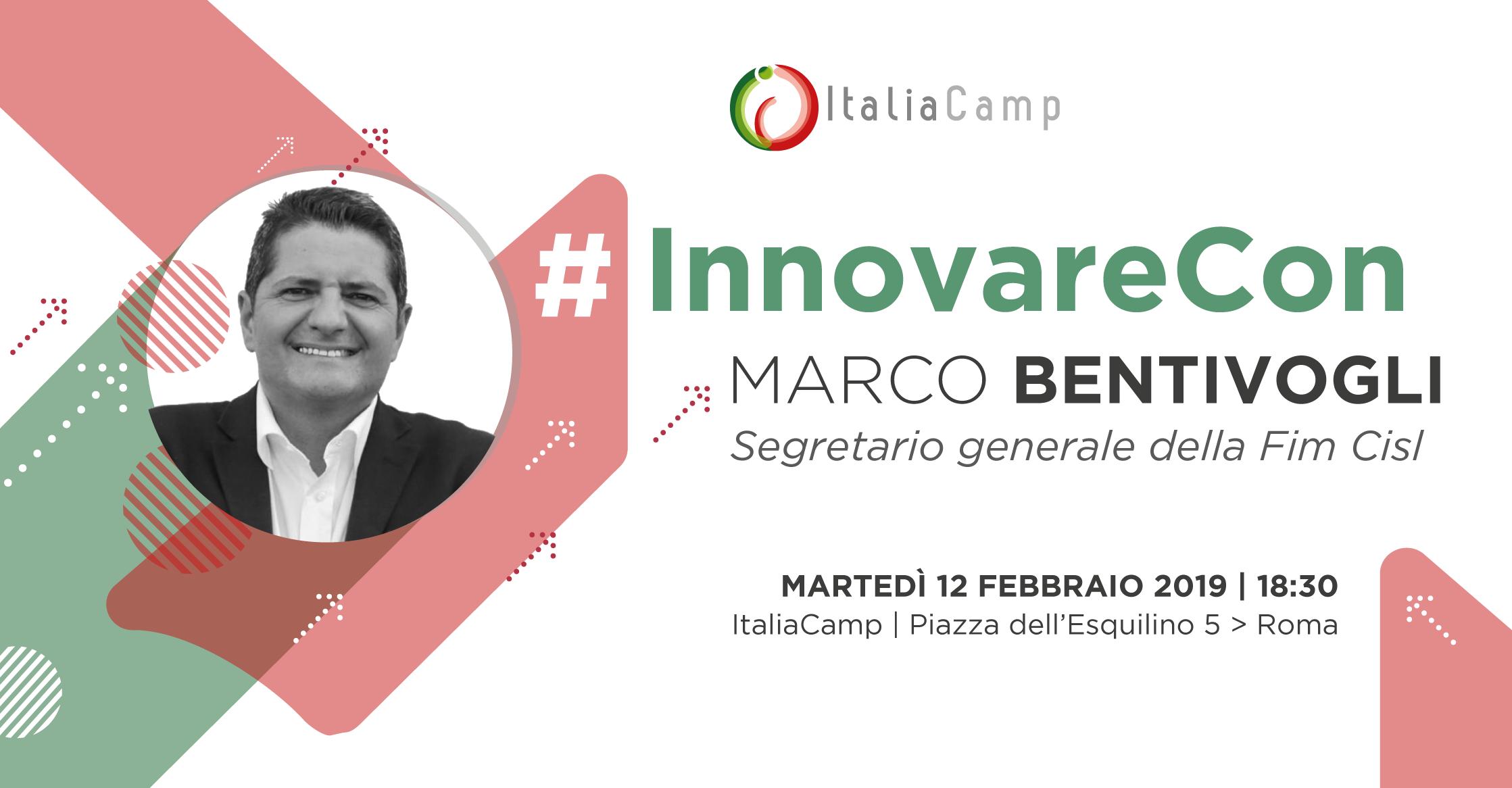 #InnovareCon Marco Bentivogli