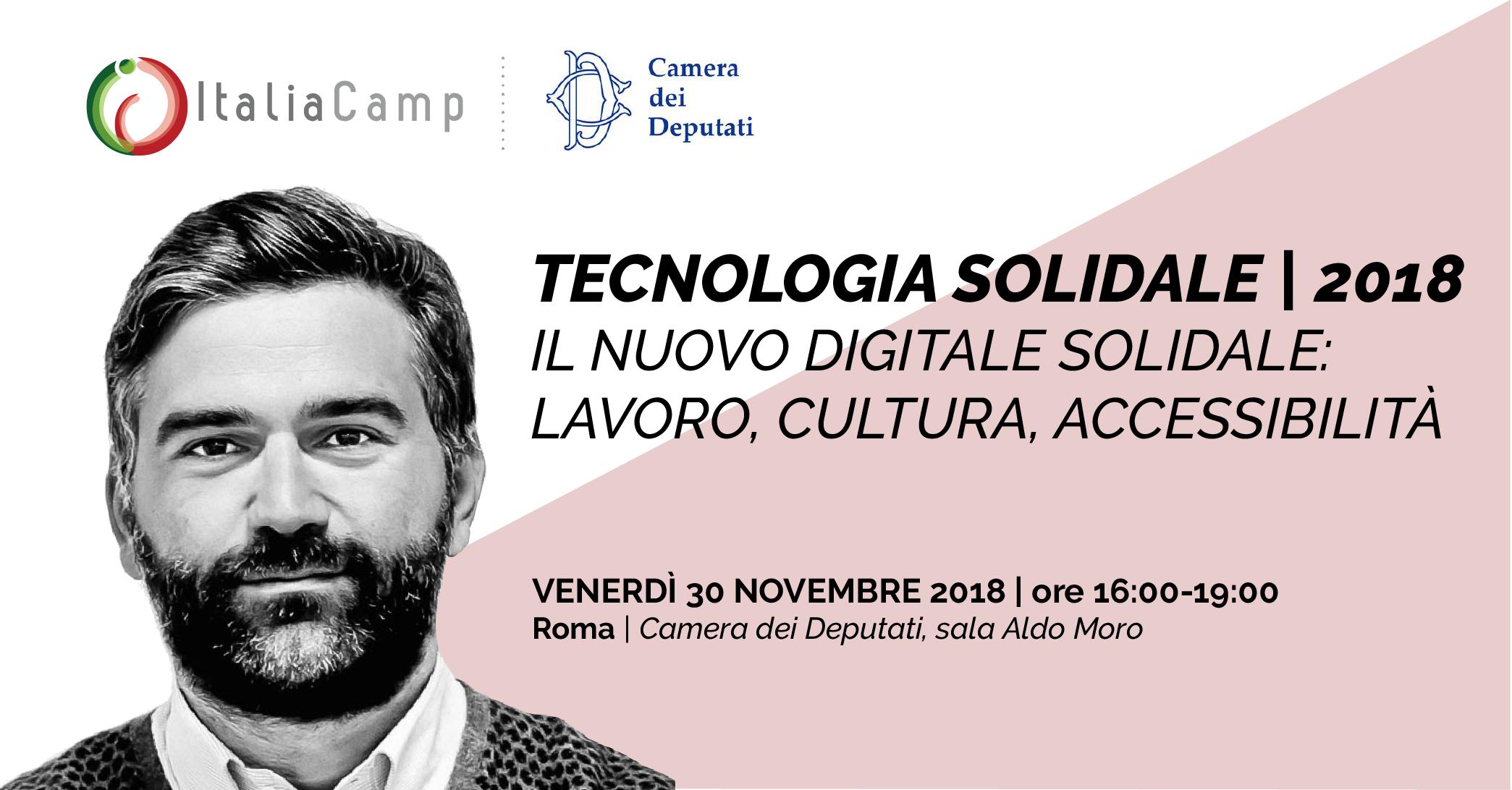 Leo Cisotta a Tecnologia Solidale 2018