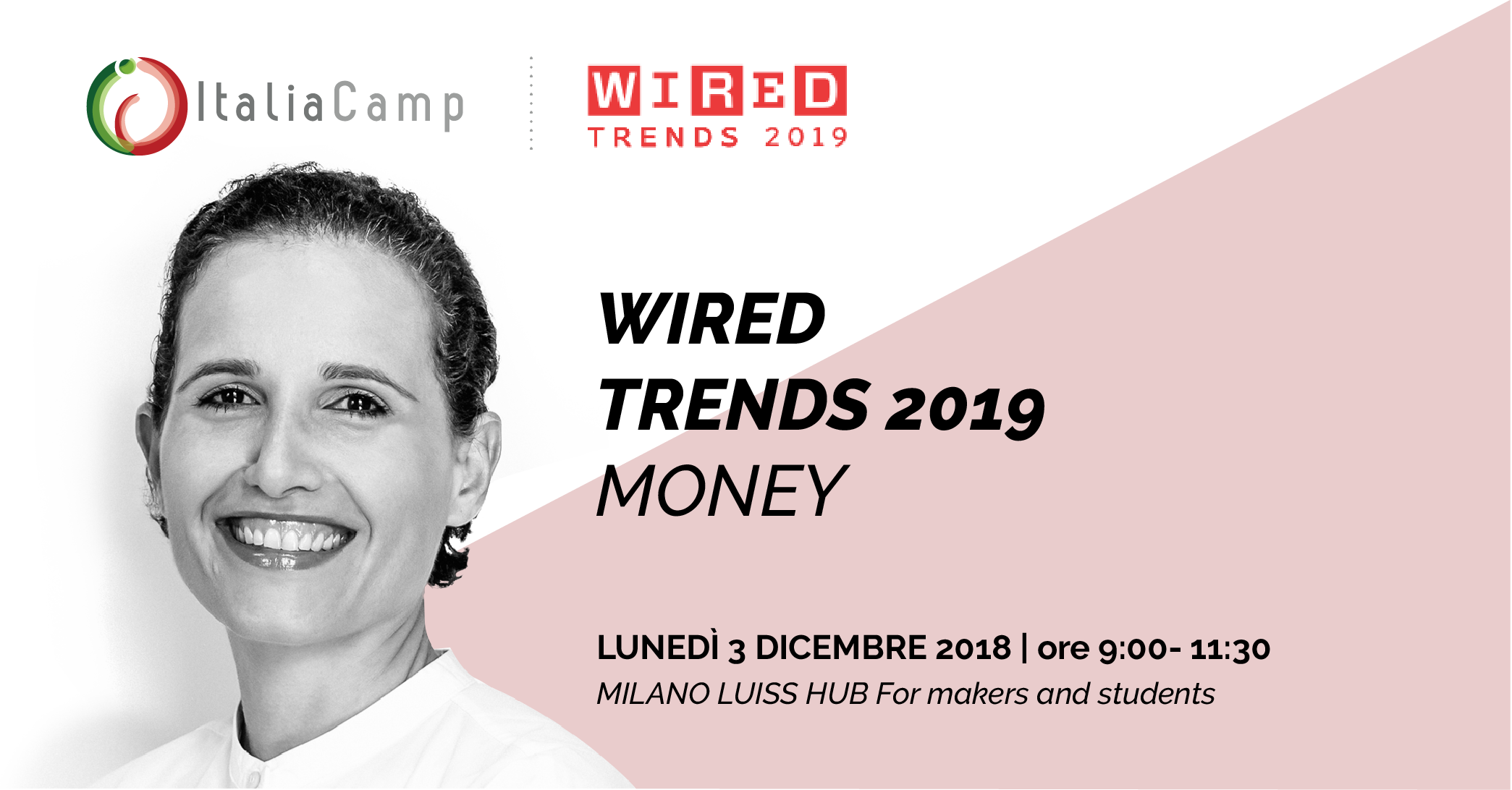 Gabriella Barone ai Wired Trends 2019