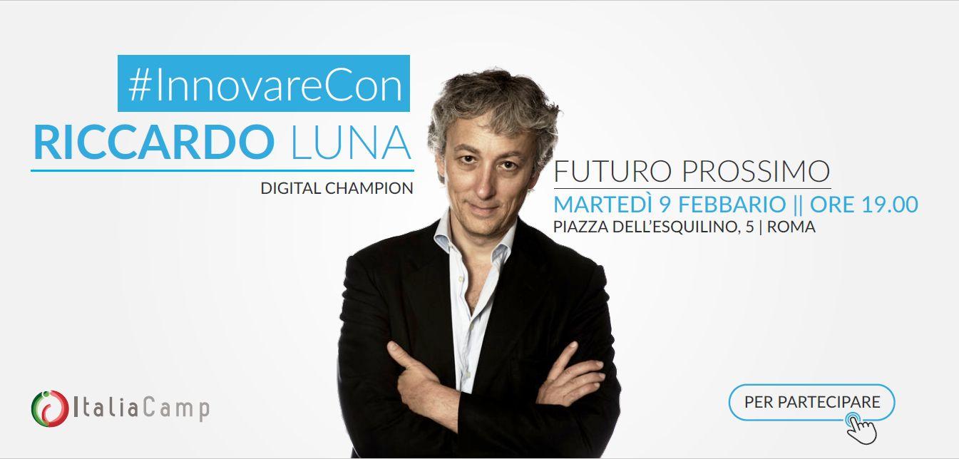 InnovareCon Riccardo Luna