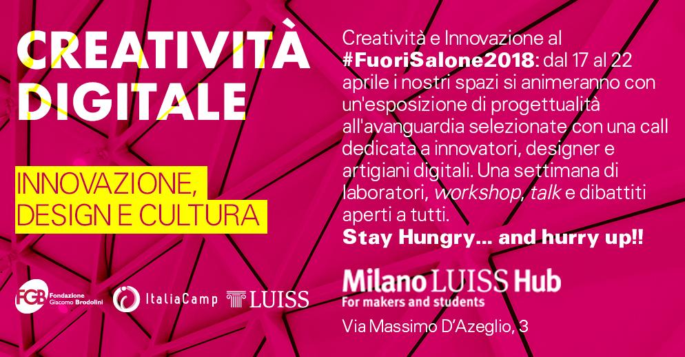 Fuori Salone al Milano Luiss Hub