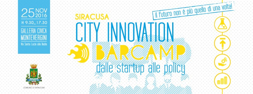 Siracusa City Innovation Barcamp