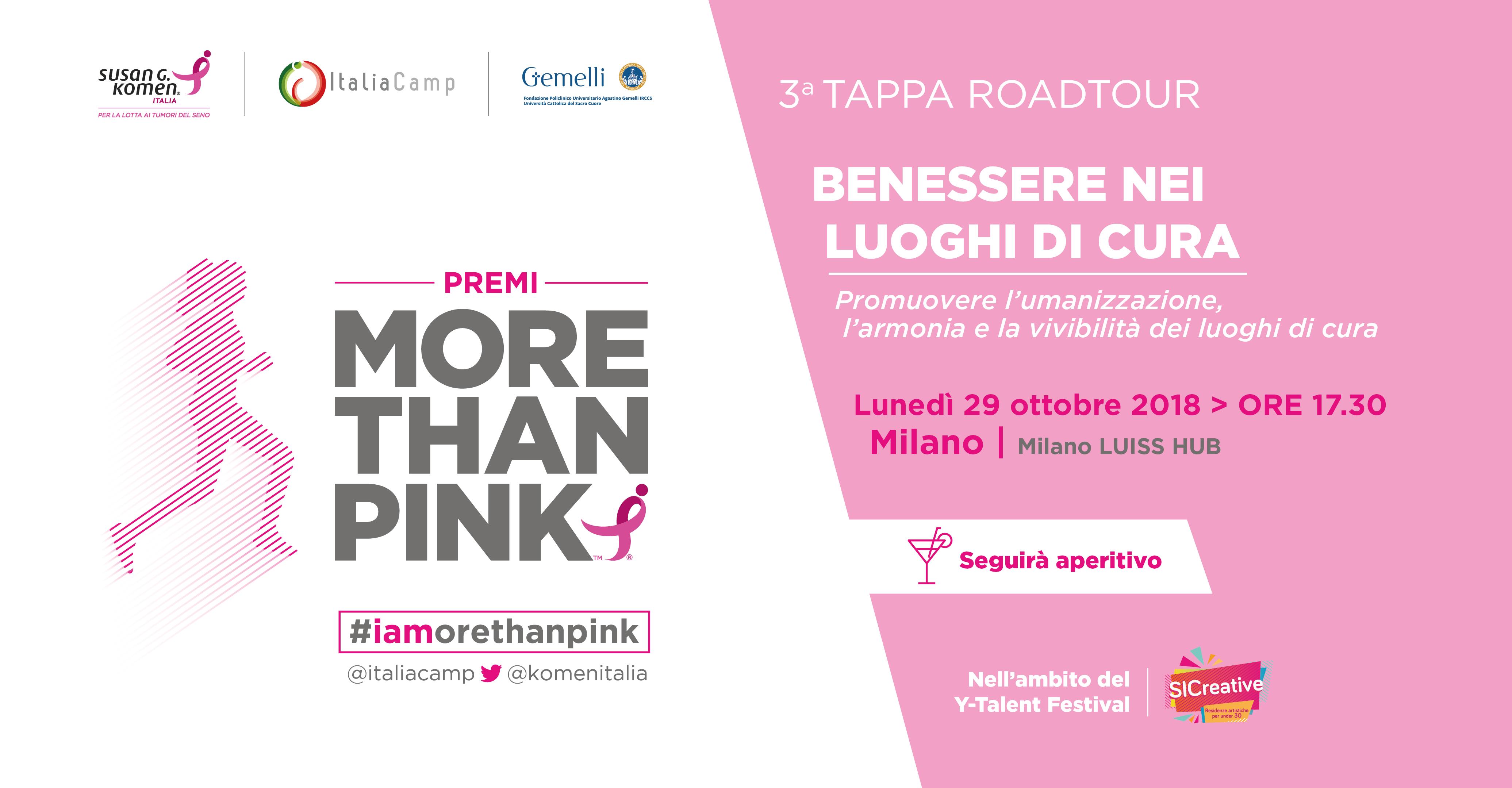 More Than Pink Milano