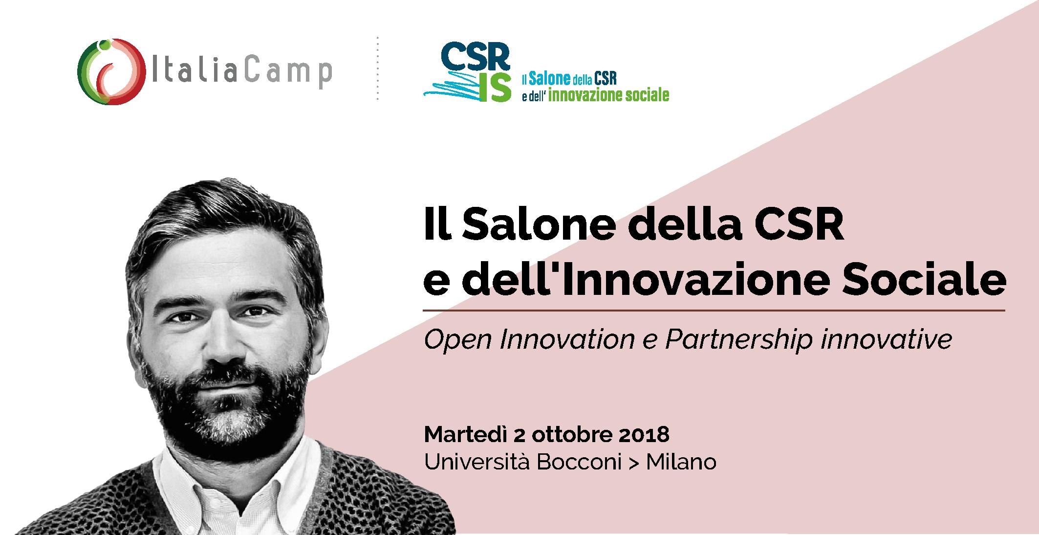 ItaliaCamp Salone della CSR e dell'Innovazione Sociale