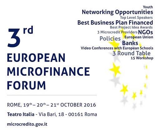 Forum Europeo sulla Microfinanza