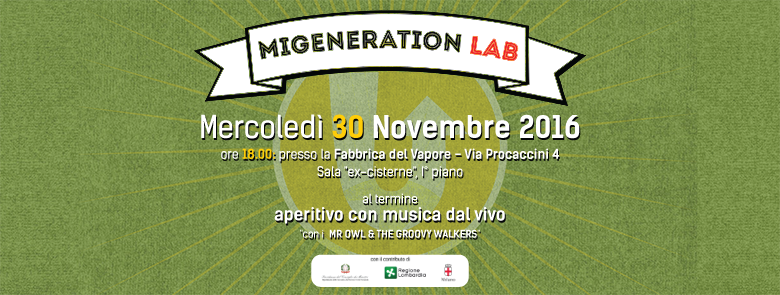 MiGeneration Lab evento finale