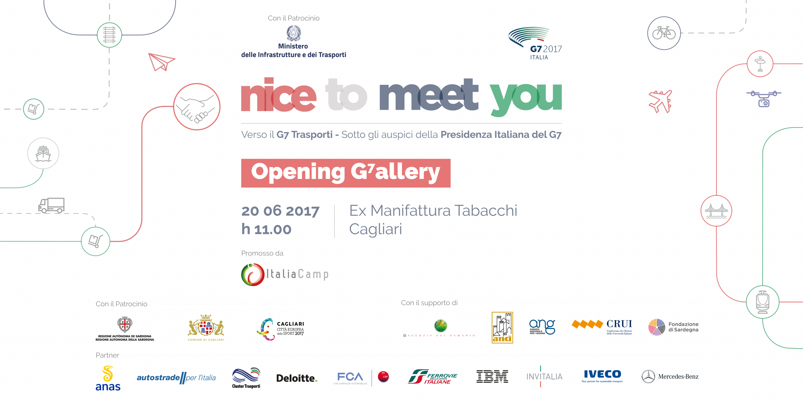 Nice To Meet You G7! Opening G7allery