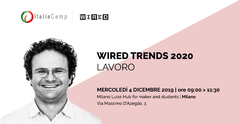 Fabrizio Sammarco Wired Trends 2020