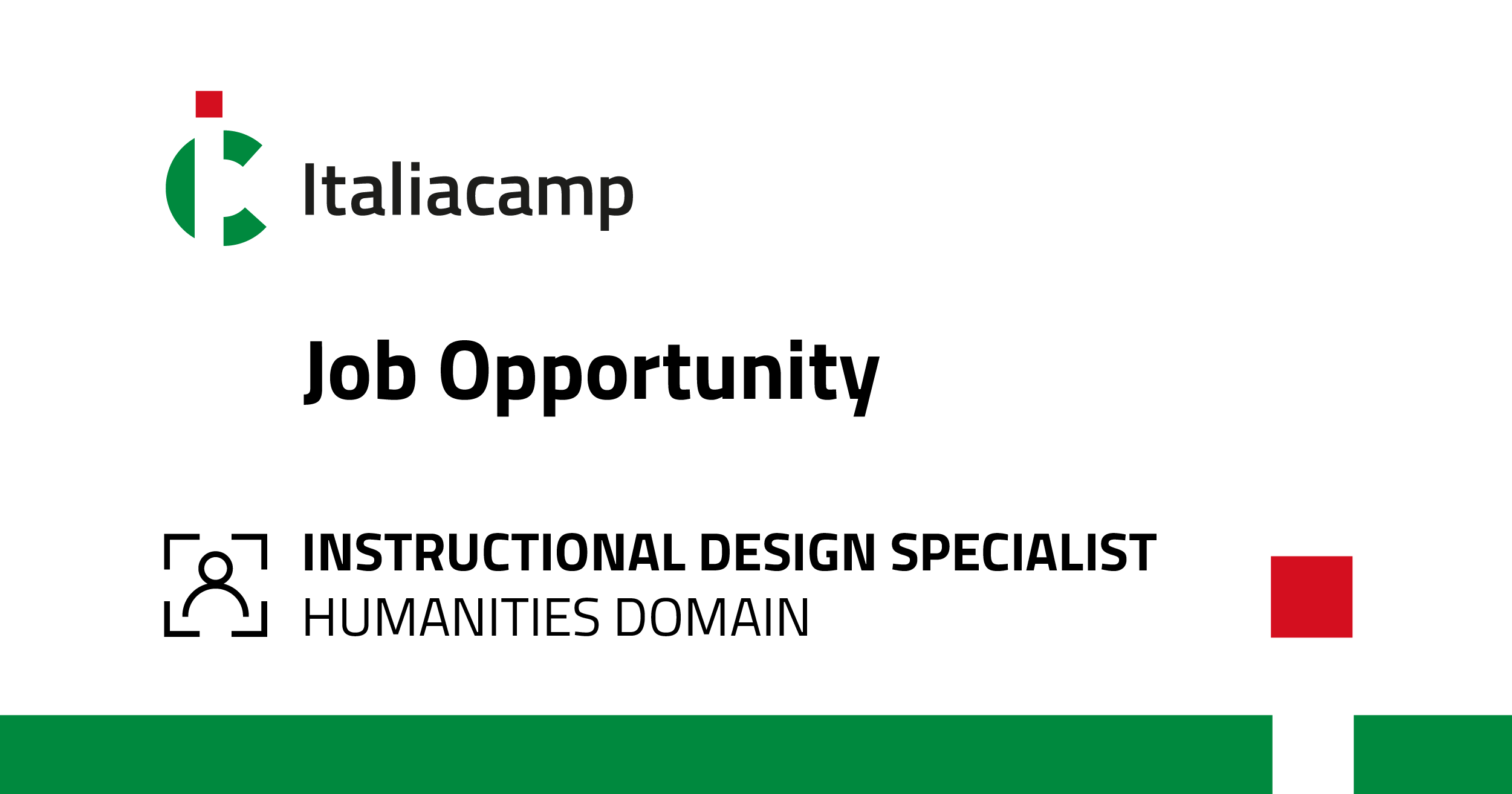 Job opportunity: Instructional Design Specialist, Humanities Domain