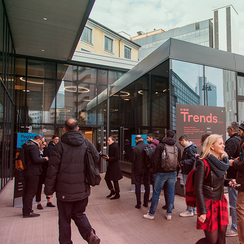 Milano Luiss Hub durante i Wired Trends 2019