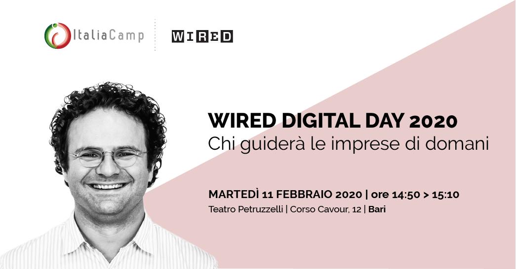 Sammarco al Wired Digital Day 2020