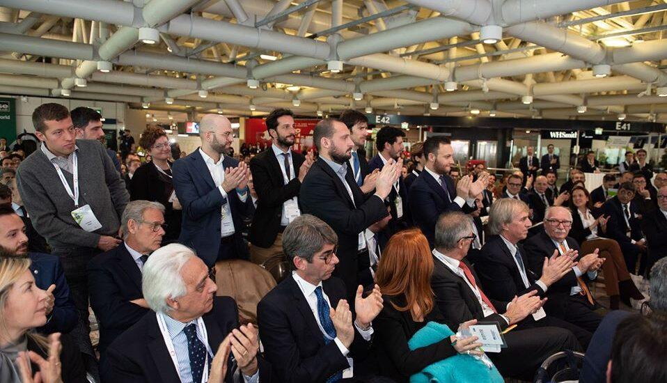 Il Consiglio Direttivo dell'Associazione ItaliaCamp durante l'evento Insieme: 10 anni per il Paese