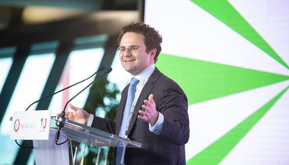 Fabrizio Sammarco durante l'evento Insieme: 10 anni per il Paese