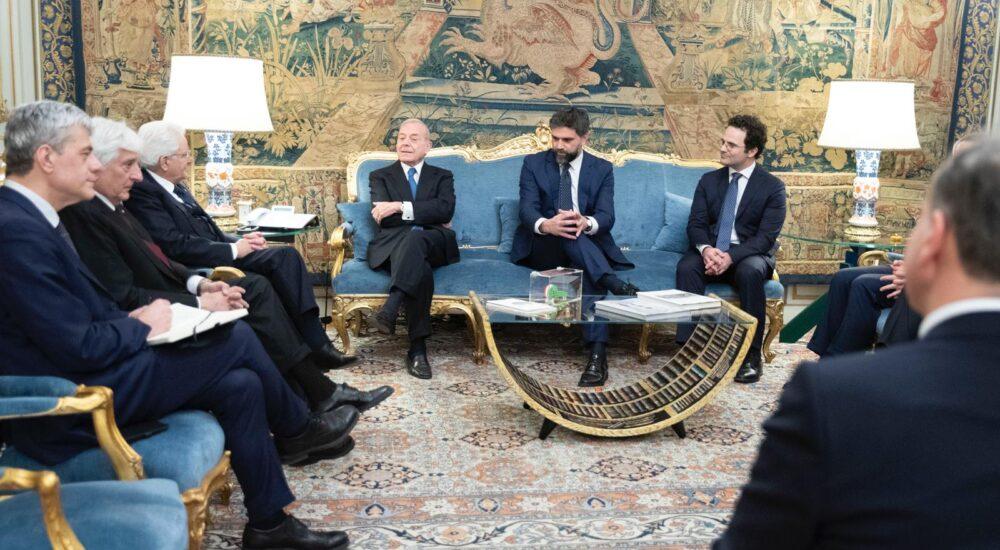 ItaliaCamp presenta al Presidente della Repubblica Sergio Mattarella gli Italia Team