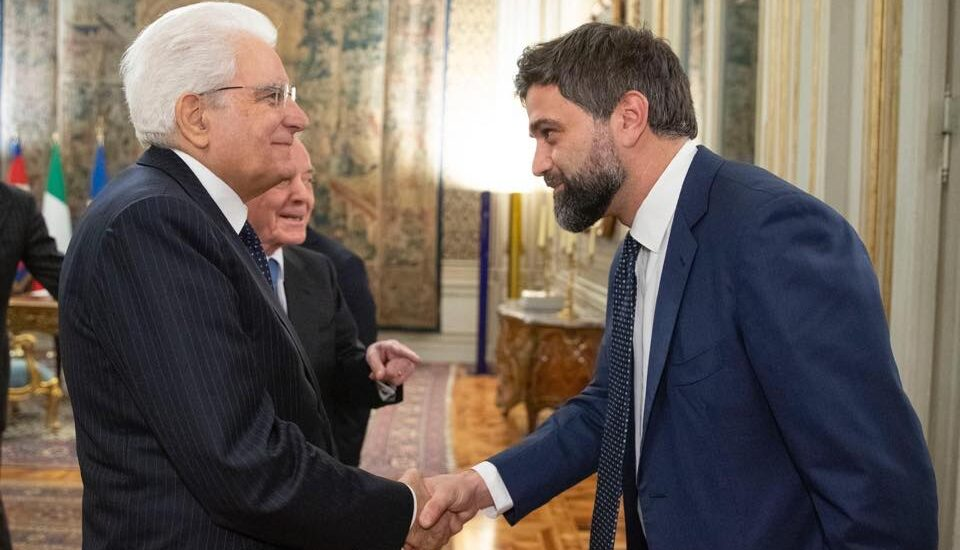Mattarella e Leo Cisotta