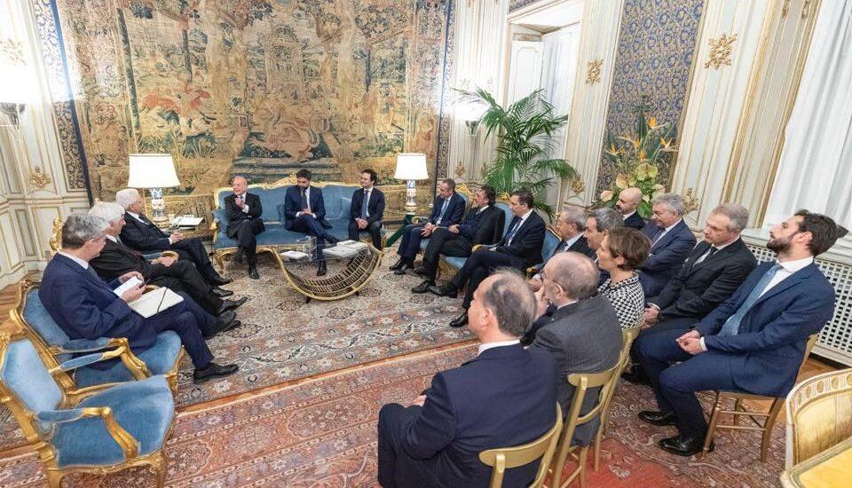 Il Presidente della Repubblica Mattarella riceve una delegazione di ItaliaCamp