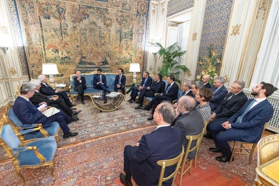 Mattarella riceve delegazione ItaliaCamp