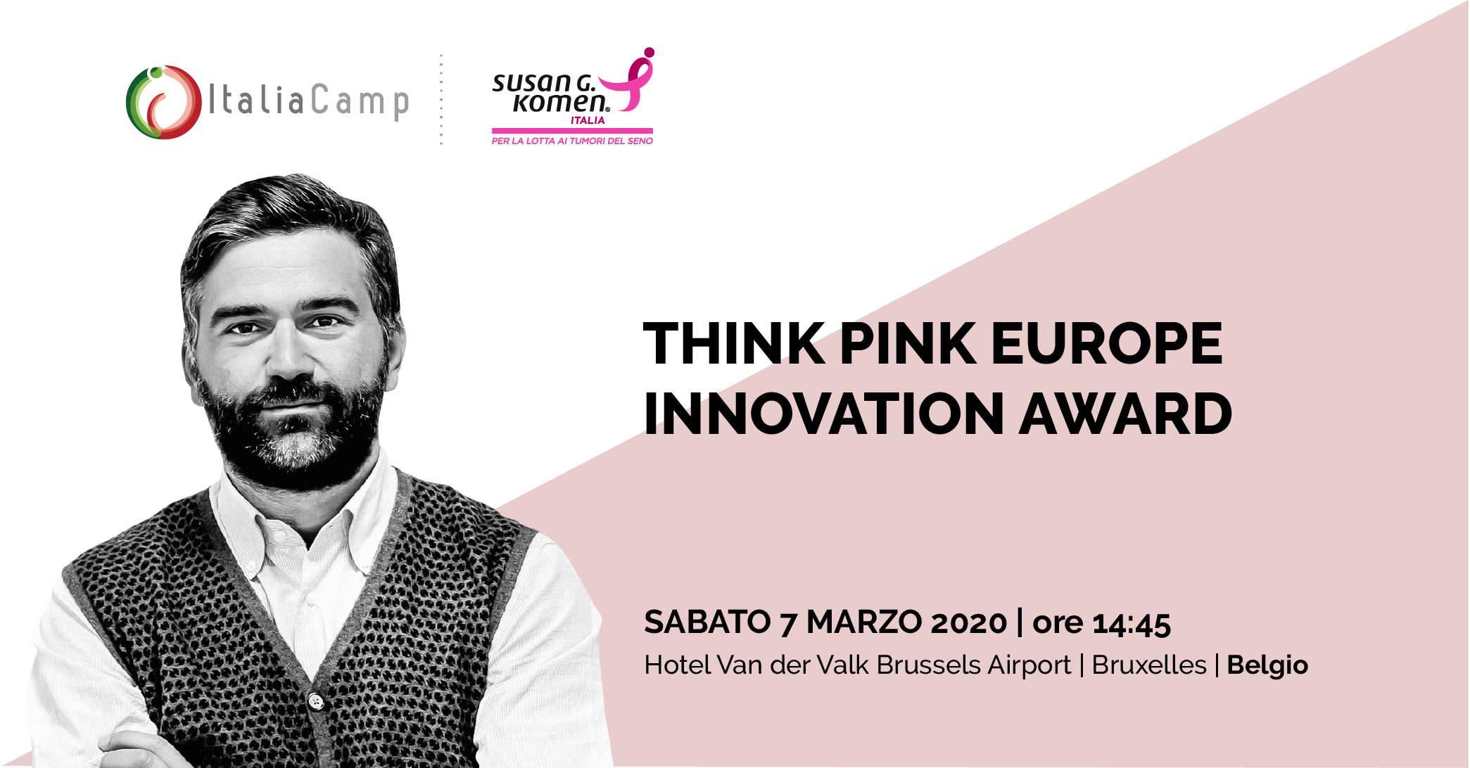Leo Cisotta Think Pink Europe