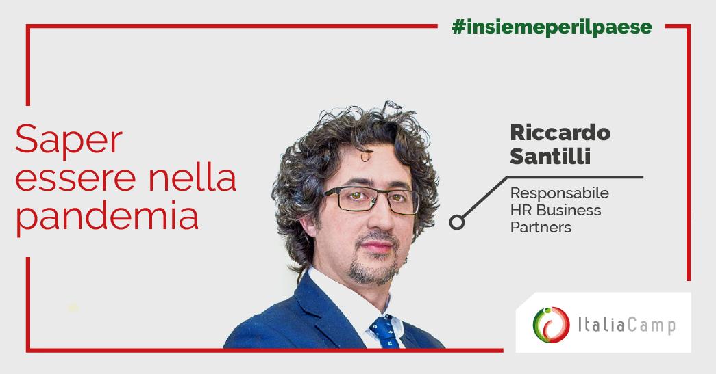 Riccardo Santilli saper essere nella pandemia