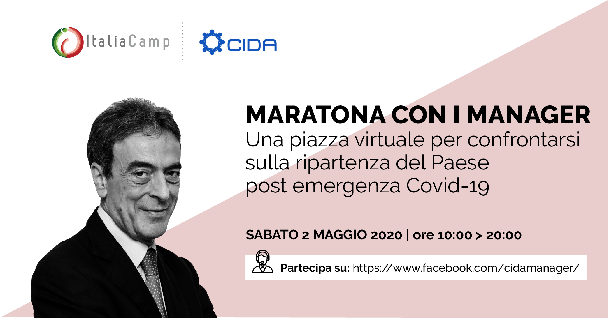 Luigi Mastrobuono Maratona con i Manager CIDA