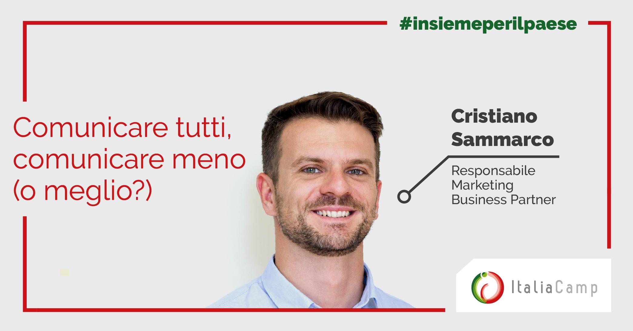 Cristiano Sammarco Comunicazione Covid19