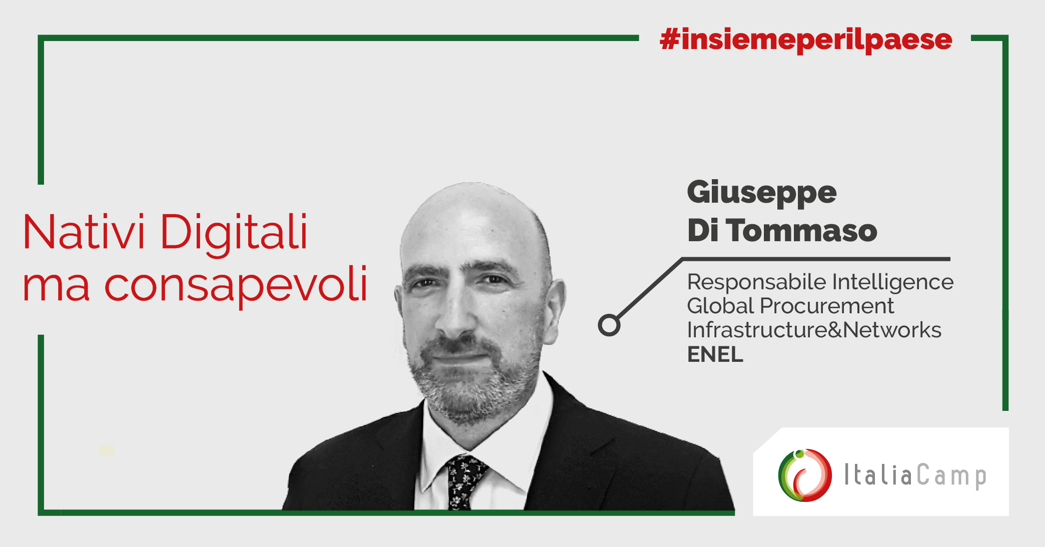Giuseppe di Tommaso per STEAMcamp online xperience