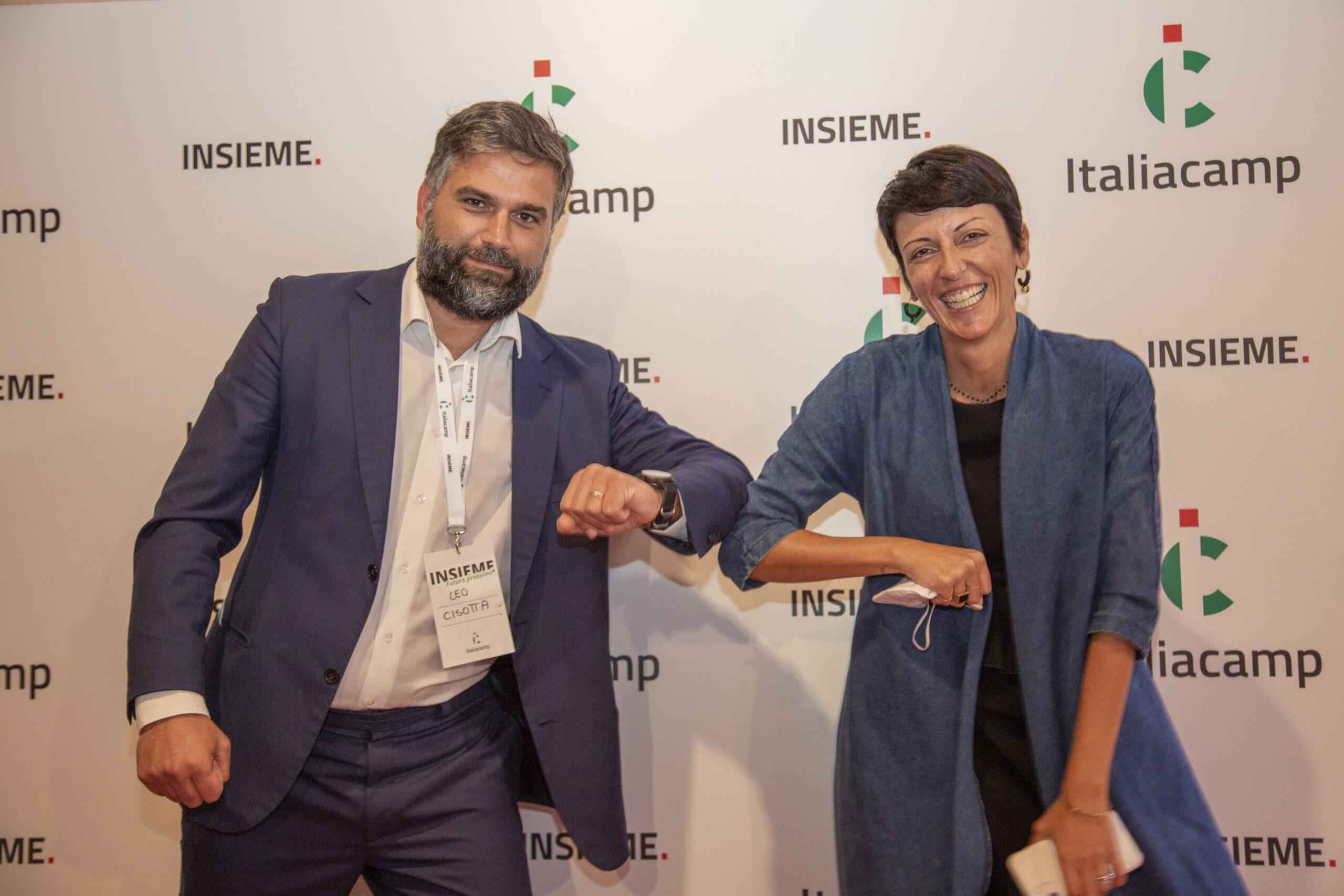 Serena Scarpello e Leo Cisotta associazione Italiacamp