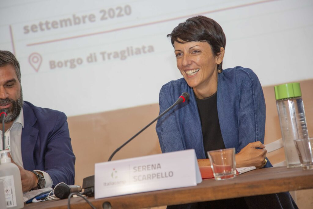 Insieme futuro prossimo assemblea Italiacamp serena scarpello intervento