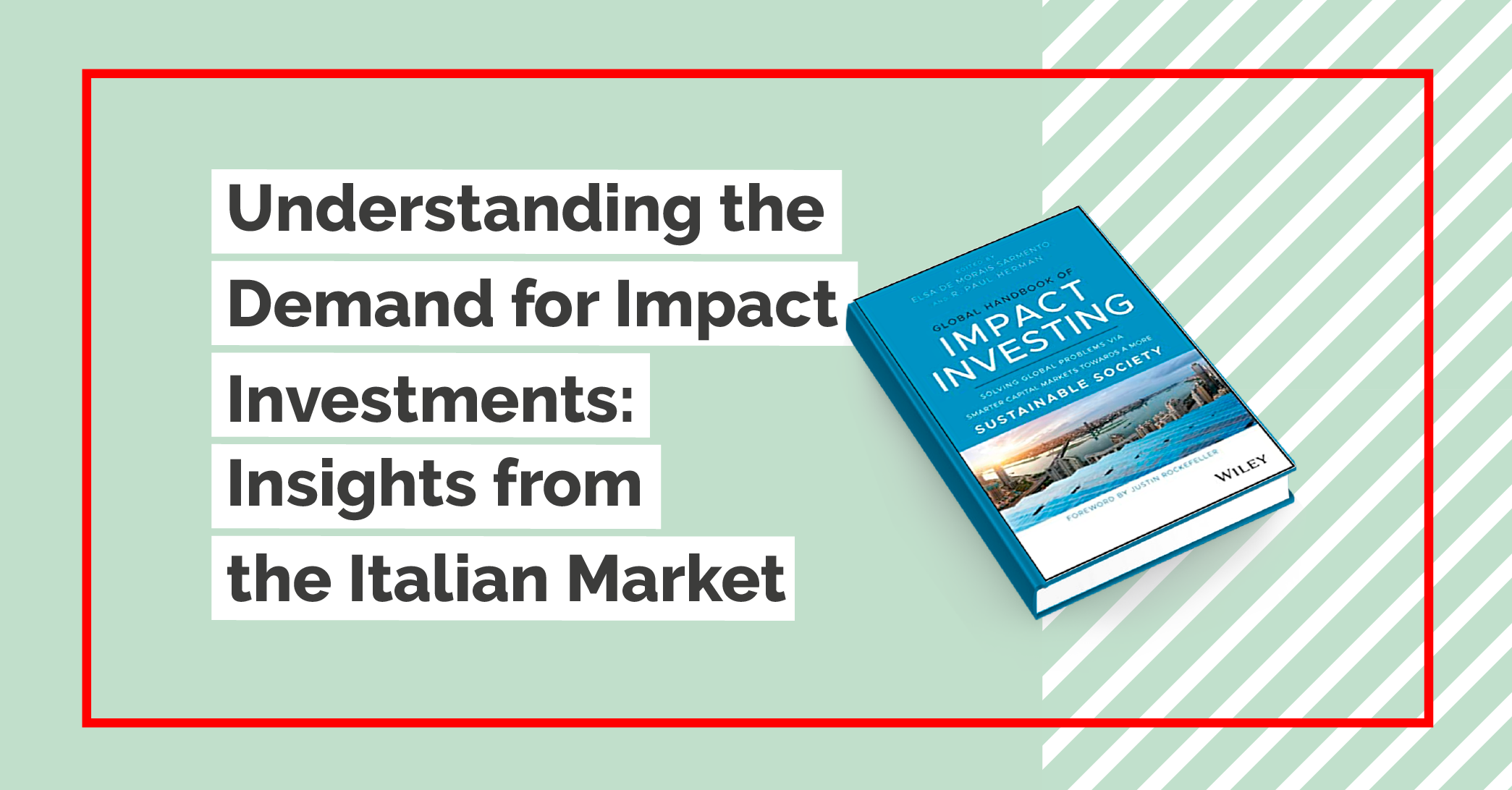 Global Handbook of Impact Investing italiacamp