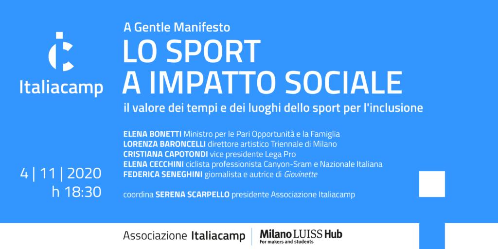 Lo sport a impatto sociale immagine in evidenza