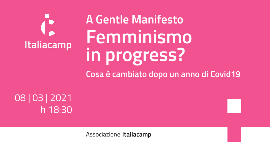 Italiacamp Femminismo in progress?