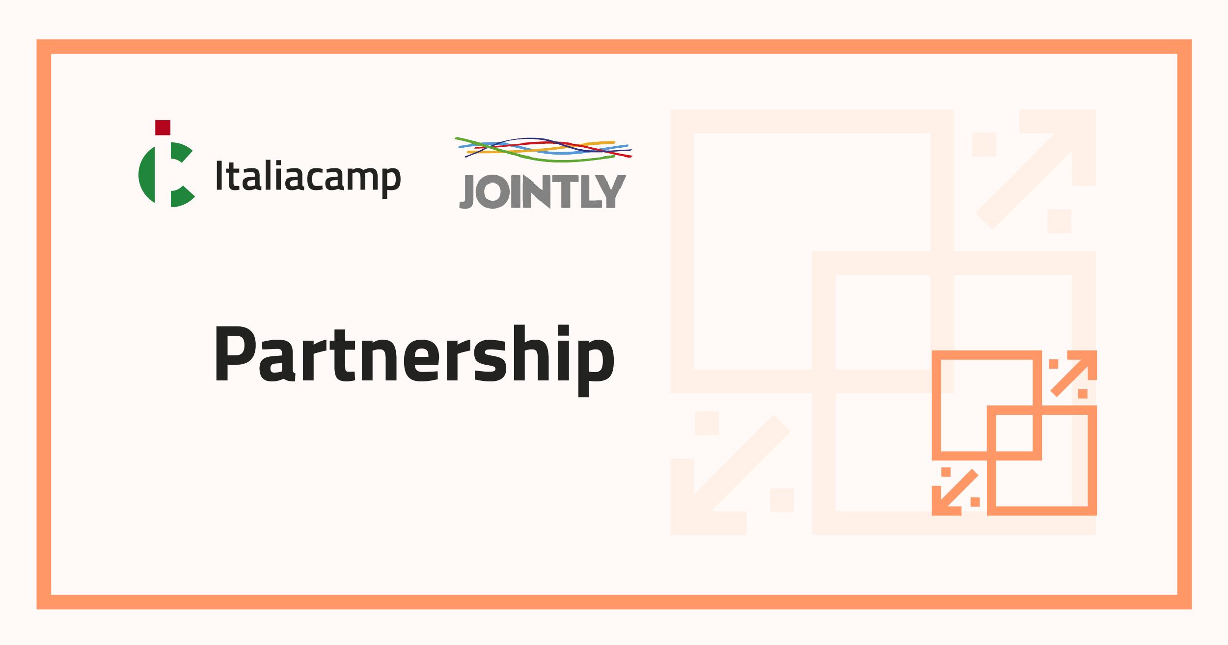 Partnership Italiacamp Jointly