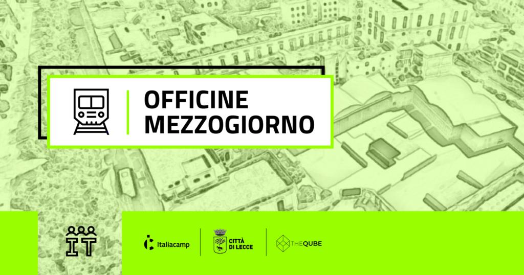 Officine Mezzogiorno Italiacamp homepage