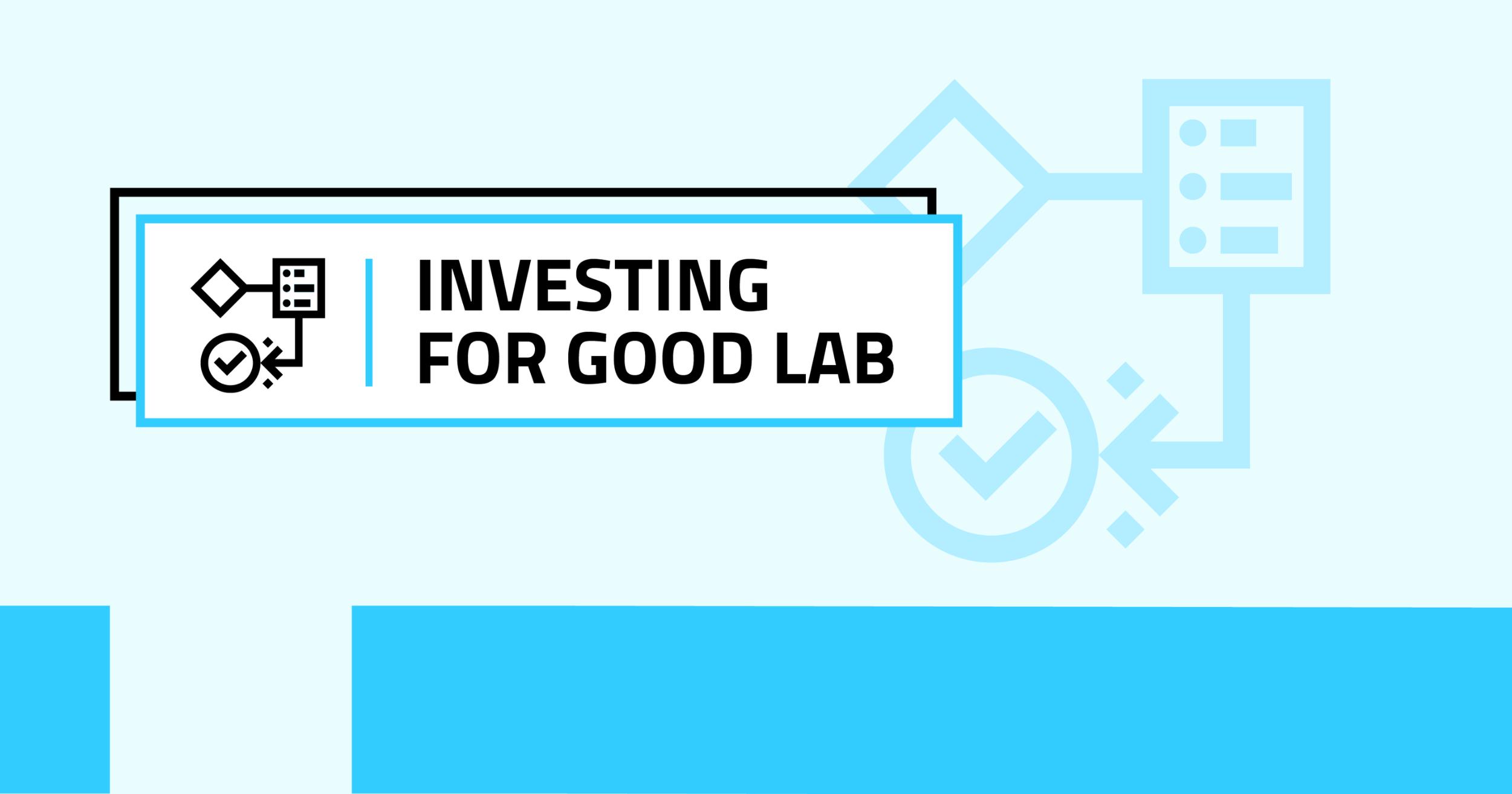 Investing for good università