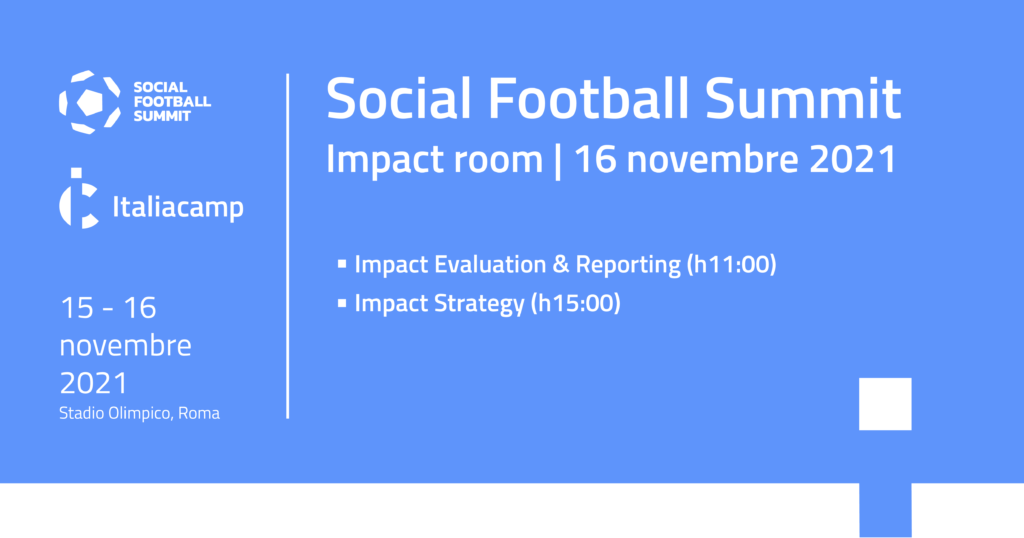 Social football summit italiacamp impact room